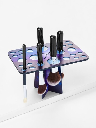 Galaxy Makeup Brush Holder