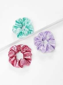 Three Color Hair Tie 3pcs