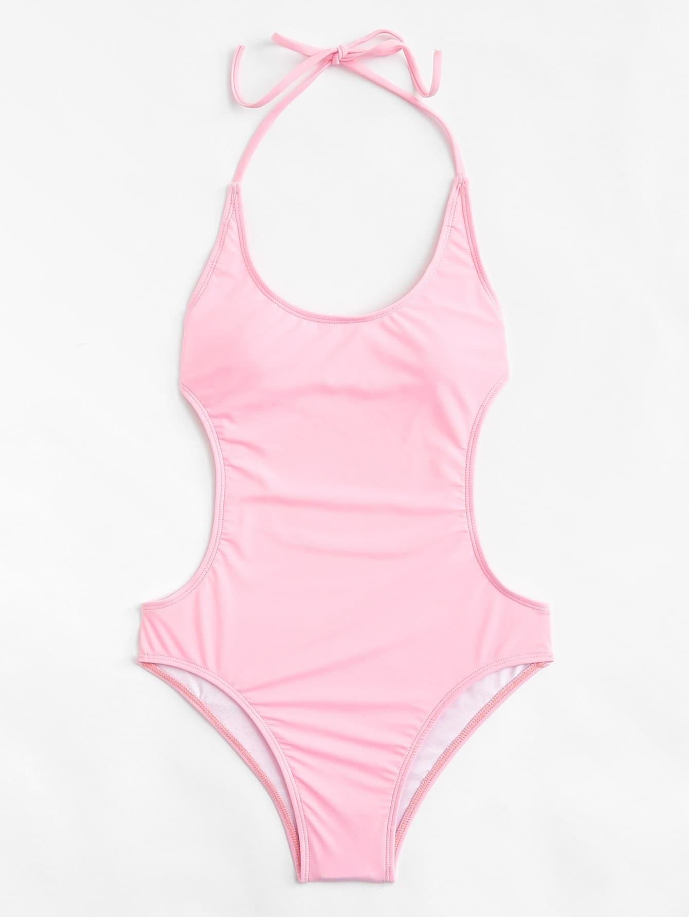Open Back Swimsuit open back fit