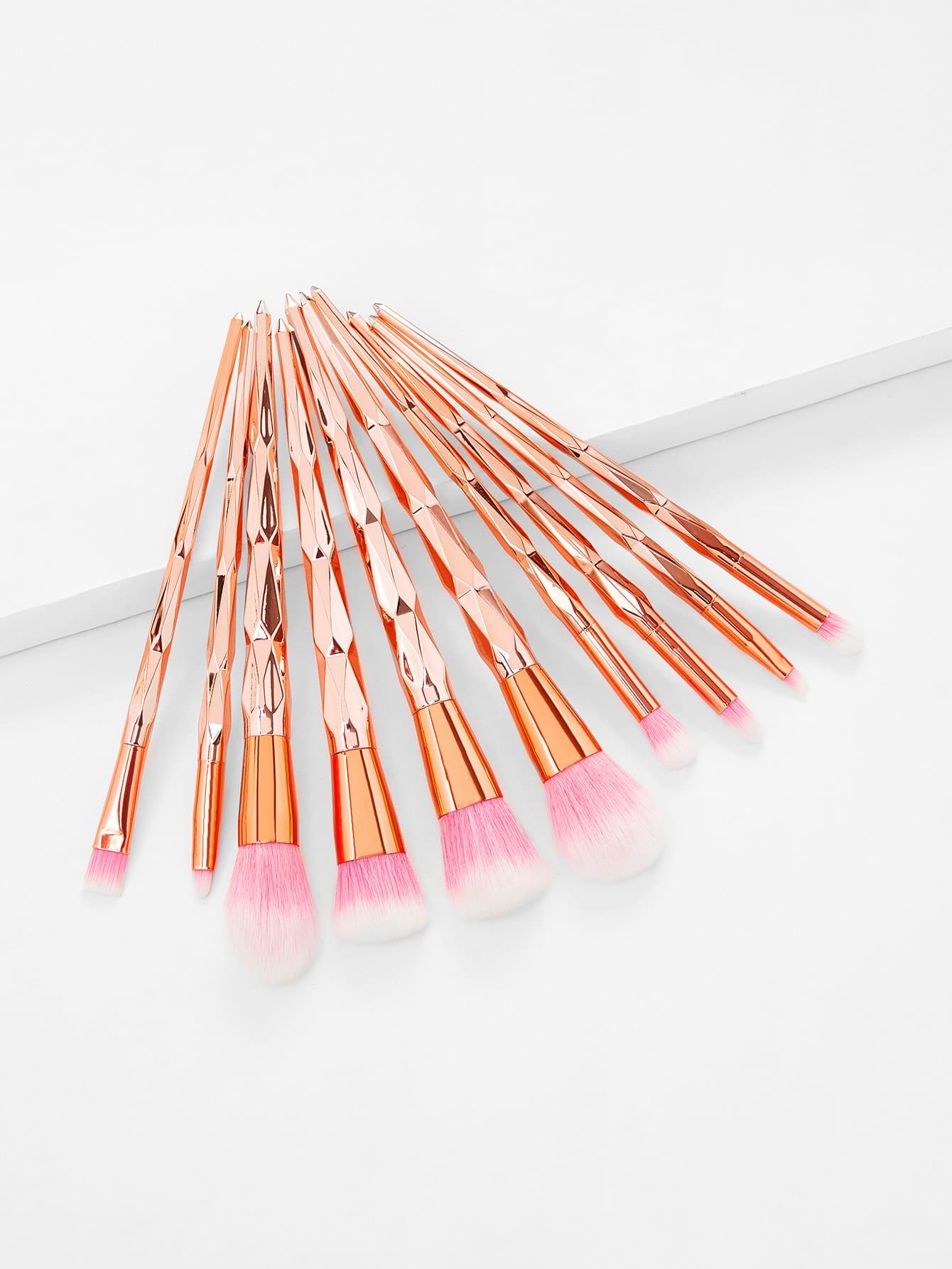 Diamond Shaped Makeup Brush 10pcs 10pcs ad79023bs