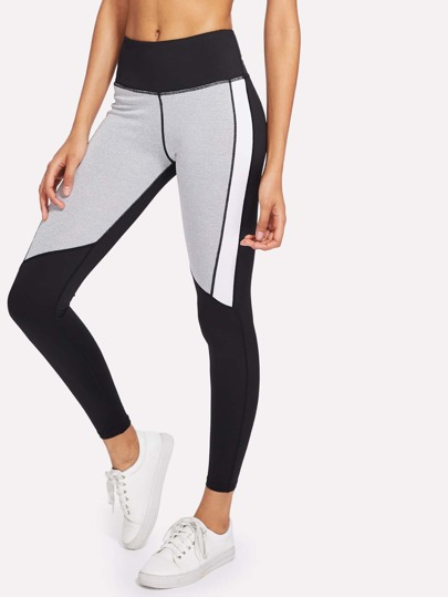Cut & Sew Panel Leggings
