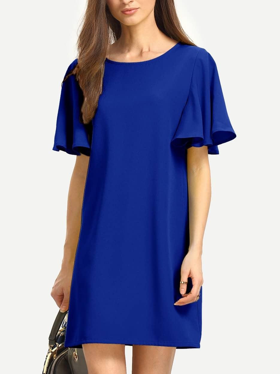 Flutter Sleeve Tunic Dress tunic stellar tunic