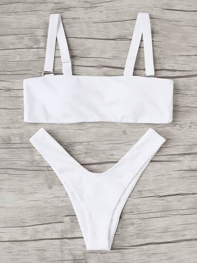 High Leg Bikini Set