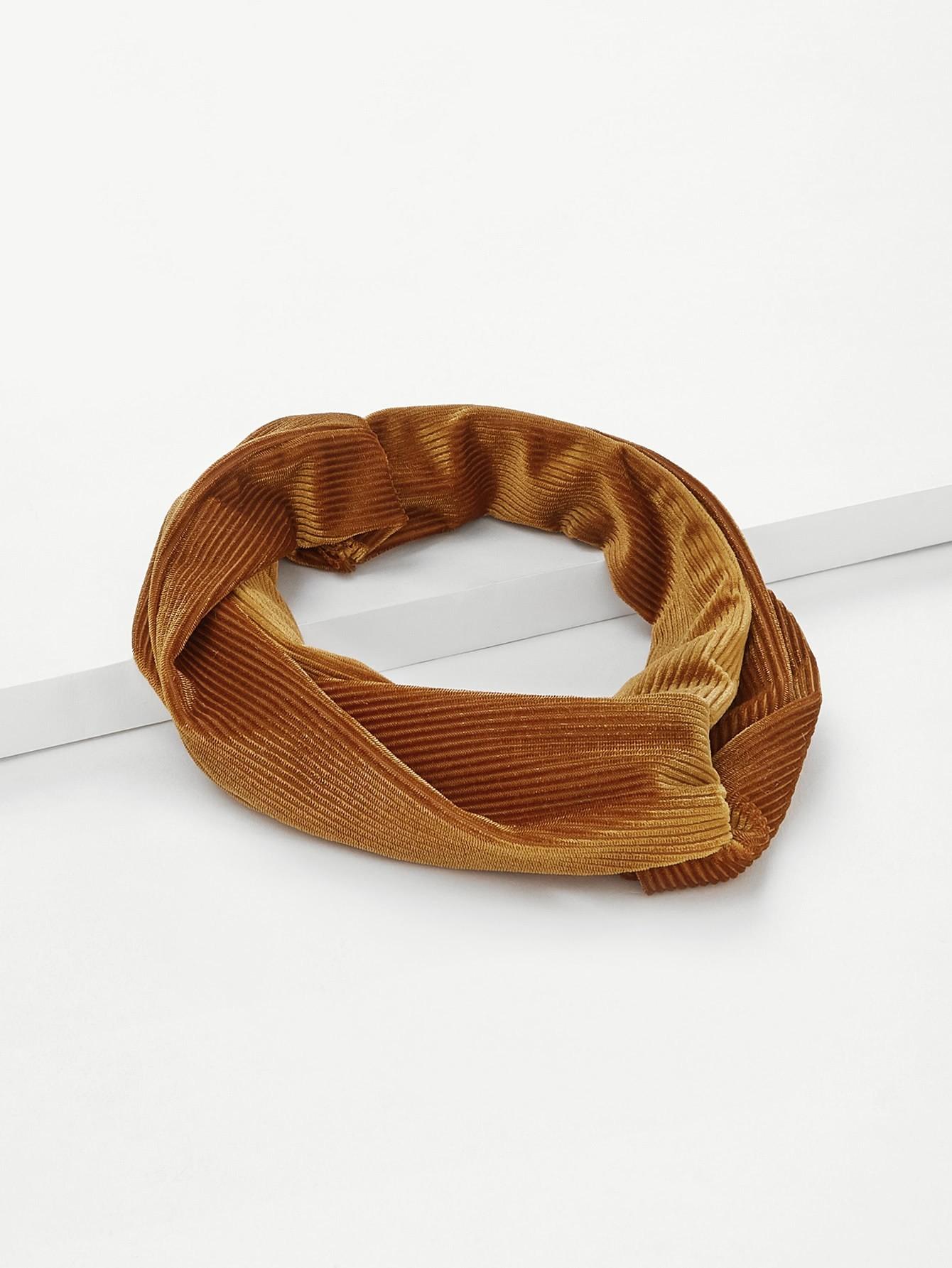 Rib Twist Headband rib twist headband