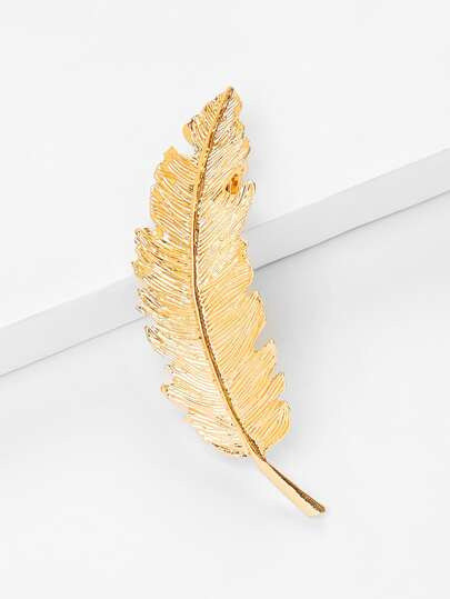 Feather Shaped Hair Clip