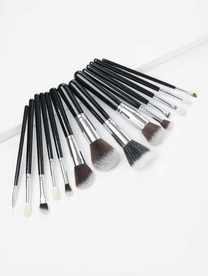 Soft Makeup Brush Set 15pcs