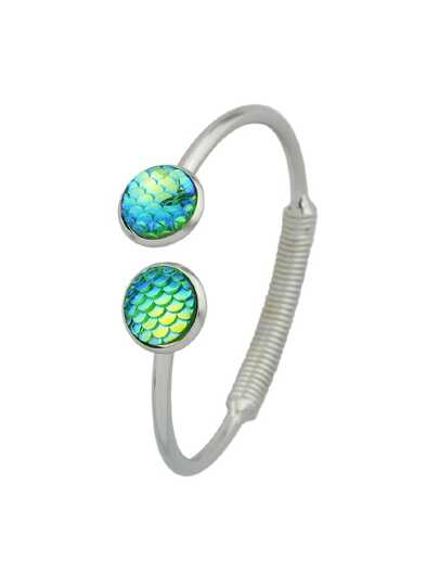 Green Mermaid Scales Love Bracelets