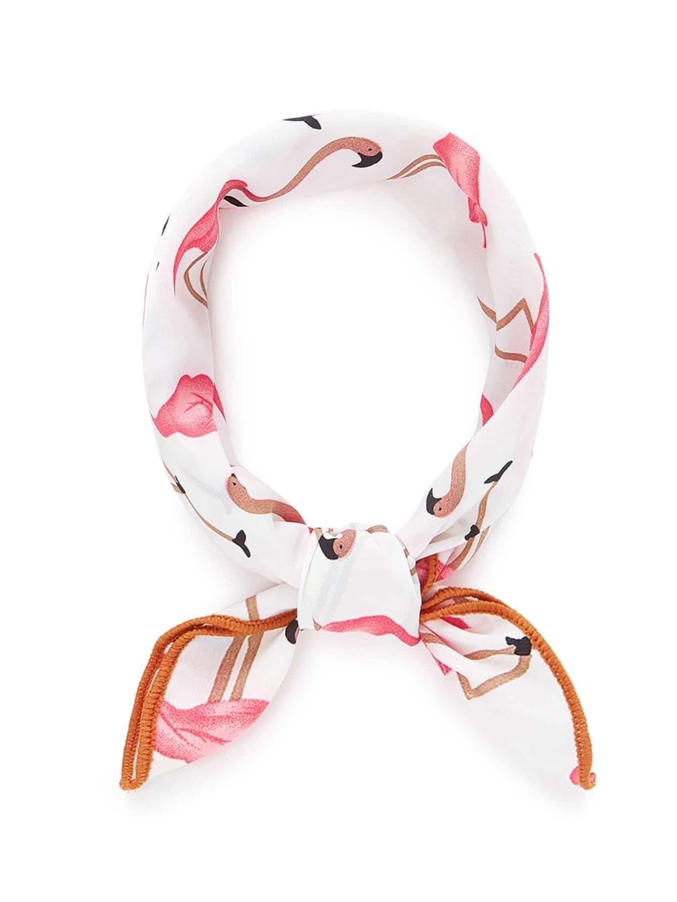 Фламинго Печать Бандана
