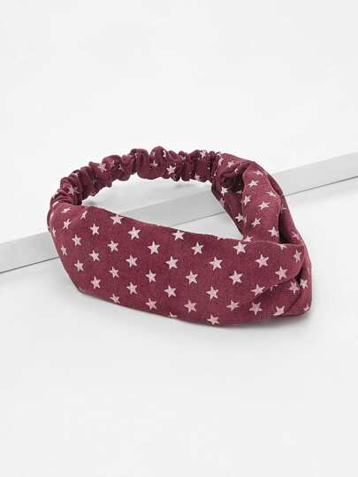 Star Pattern Design Headband