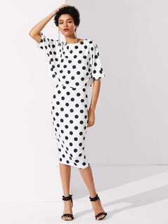 Polka Dot Tee & Skirt Co-Ord