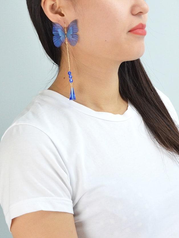 1Pc Bohemian Earrings Long Chain
