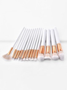 Soft Bristle Makeup Brush 15pcs