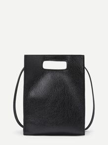 Minimalist PU Shoulder Bag