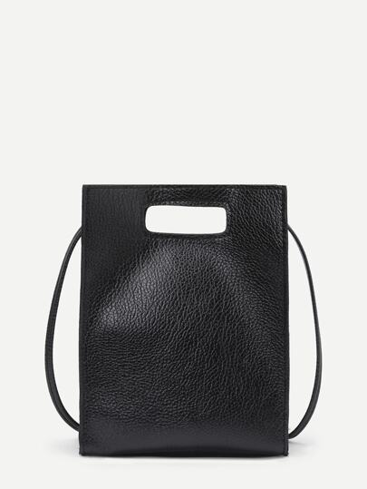 Minimalist PU Shoulder Bag