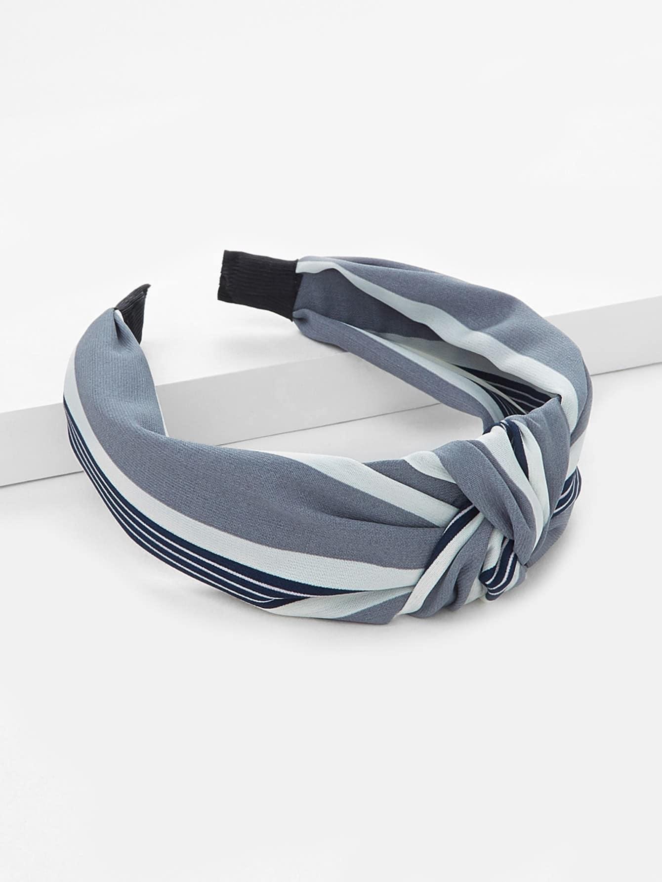 Striped Knot Headband