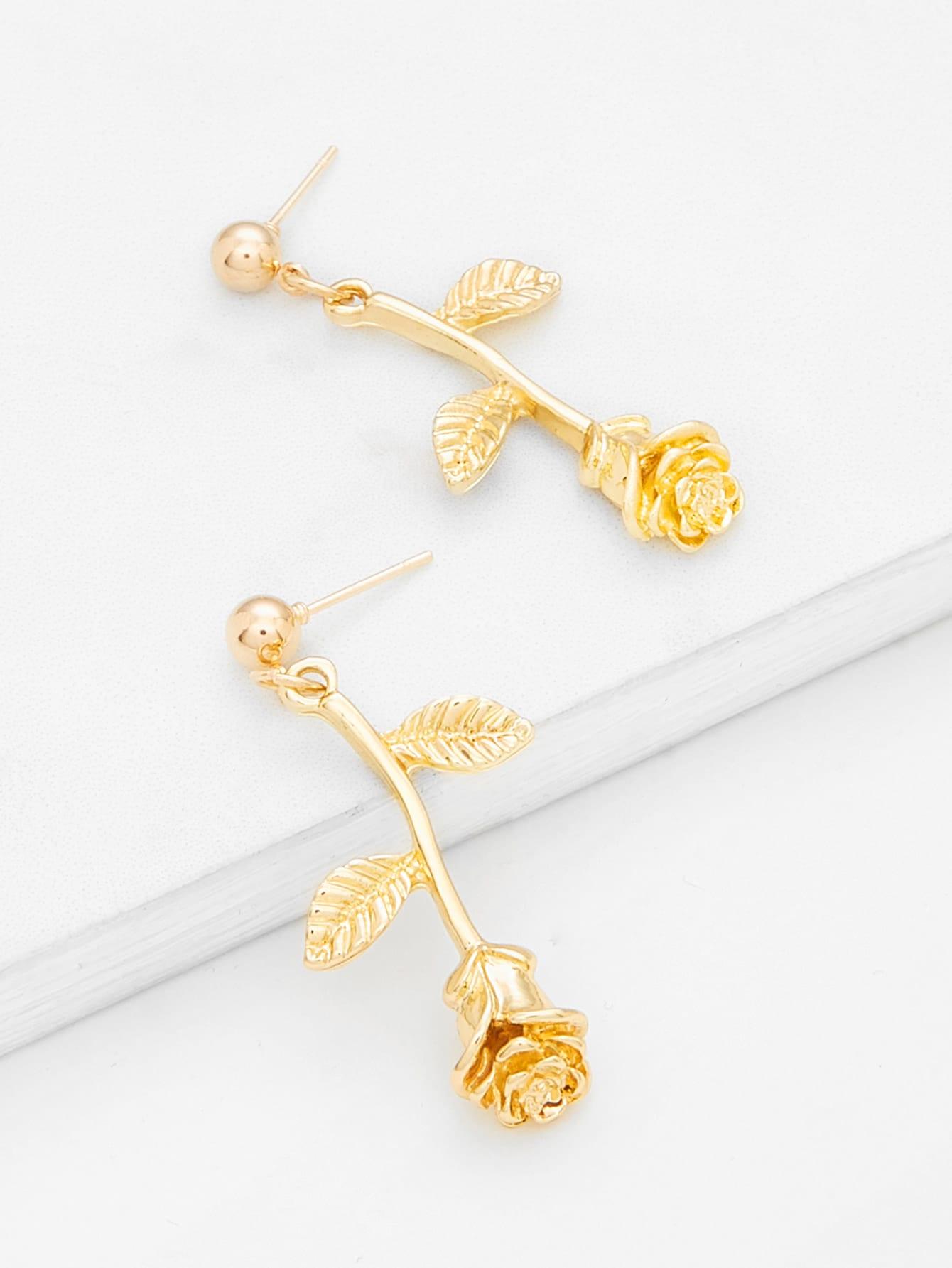Rose Drop Earrings rose drop earrings