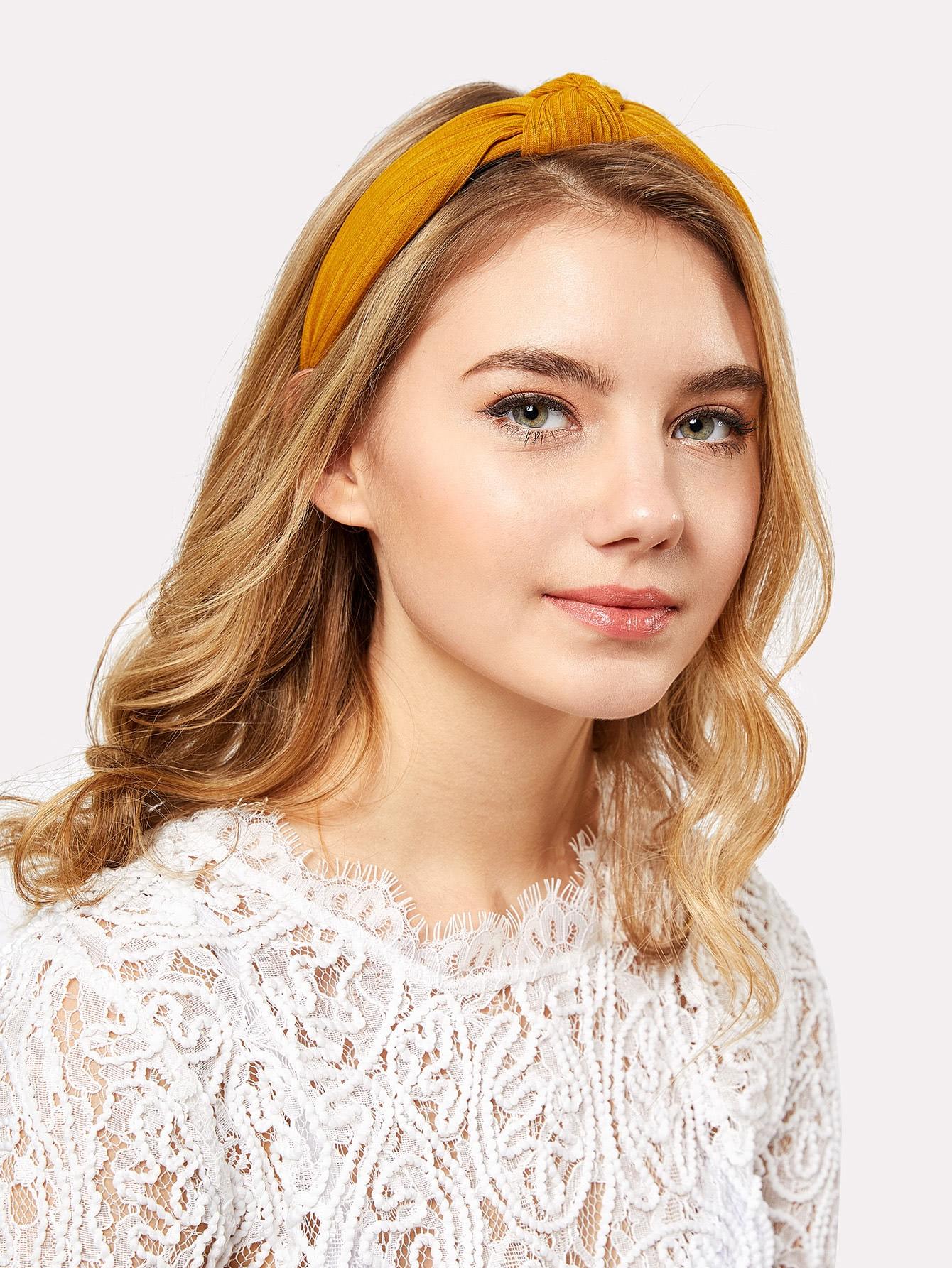 Knot Design Wide Headband все цены