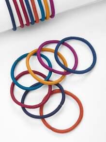 Mixed Color Hair Tie 15pcs