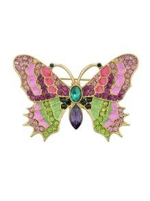 Creative Butterfly Coat Brooch