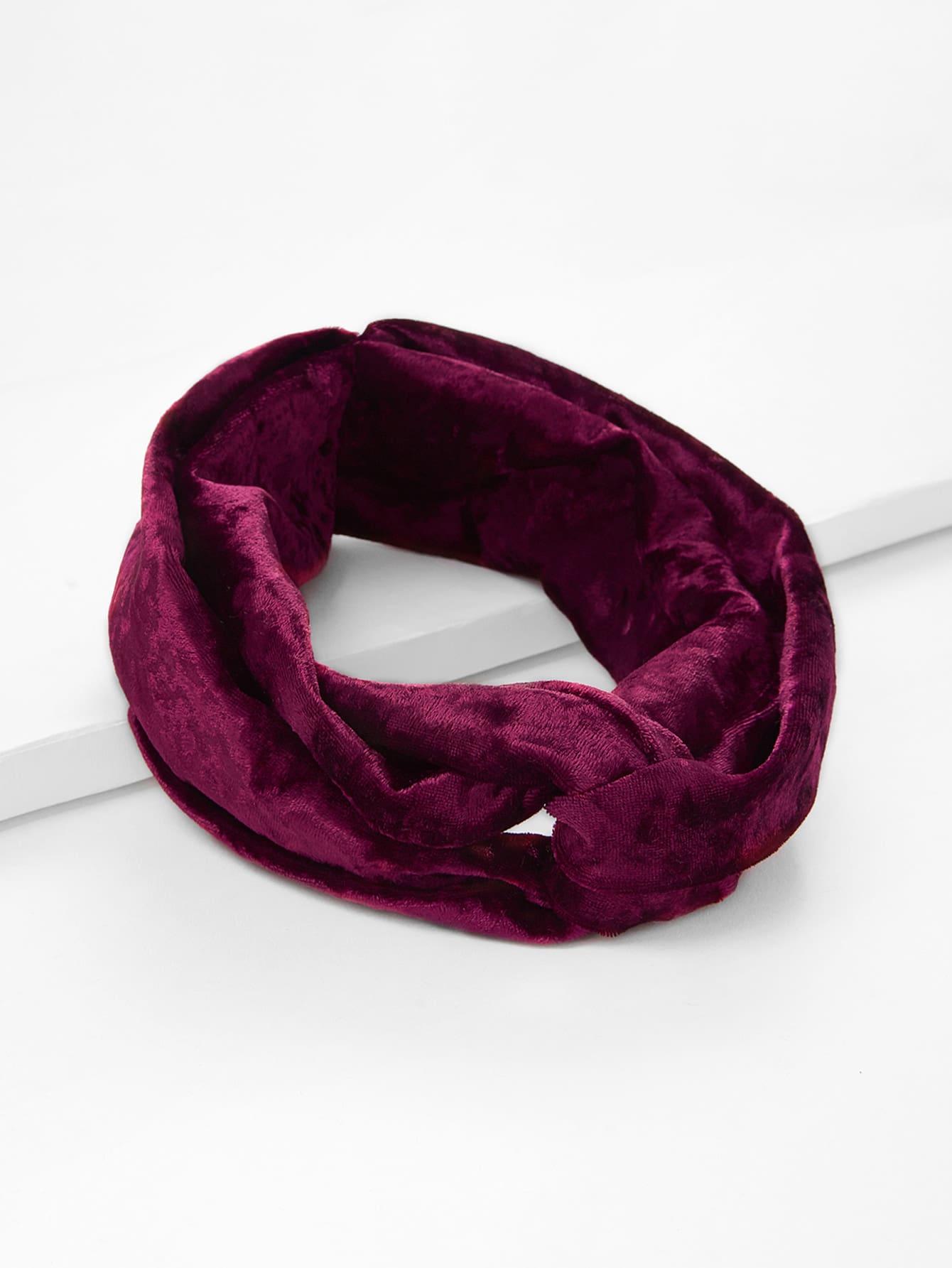 Velvet Twist Headband rib twist headband