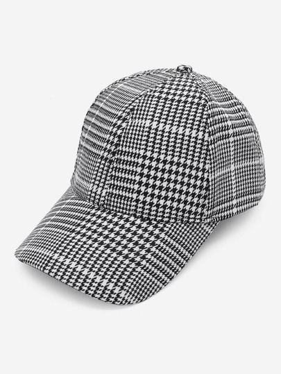 Cappellino di Houndstooth