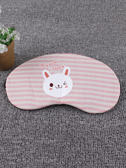 Rabbit Print Sleeping Eye Mask