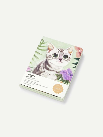 Cahier couverture chat