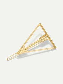 Open Triangle Hair Clip