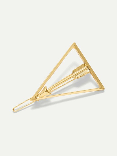 Open Triangle Hair Clip