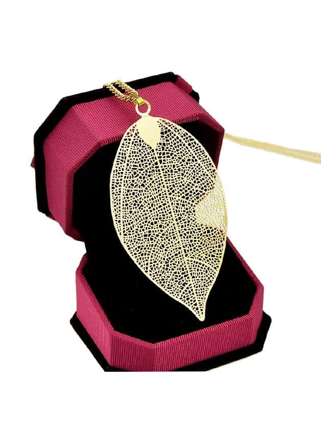 Leaf Pendant Necklace star leaf glass ball pendant necklace