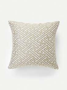 Maze Print Pillow Case