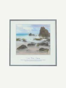Beach Landscape Print Wall Decal