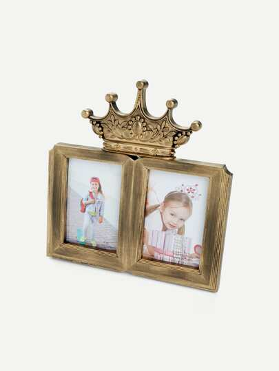 Bronze Crown Collage Frame