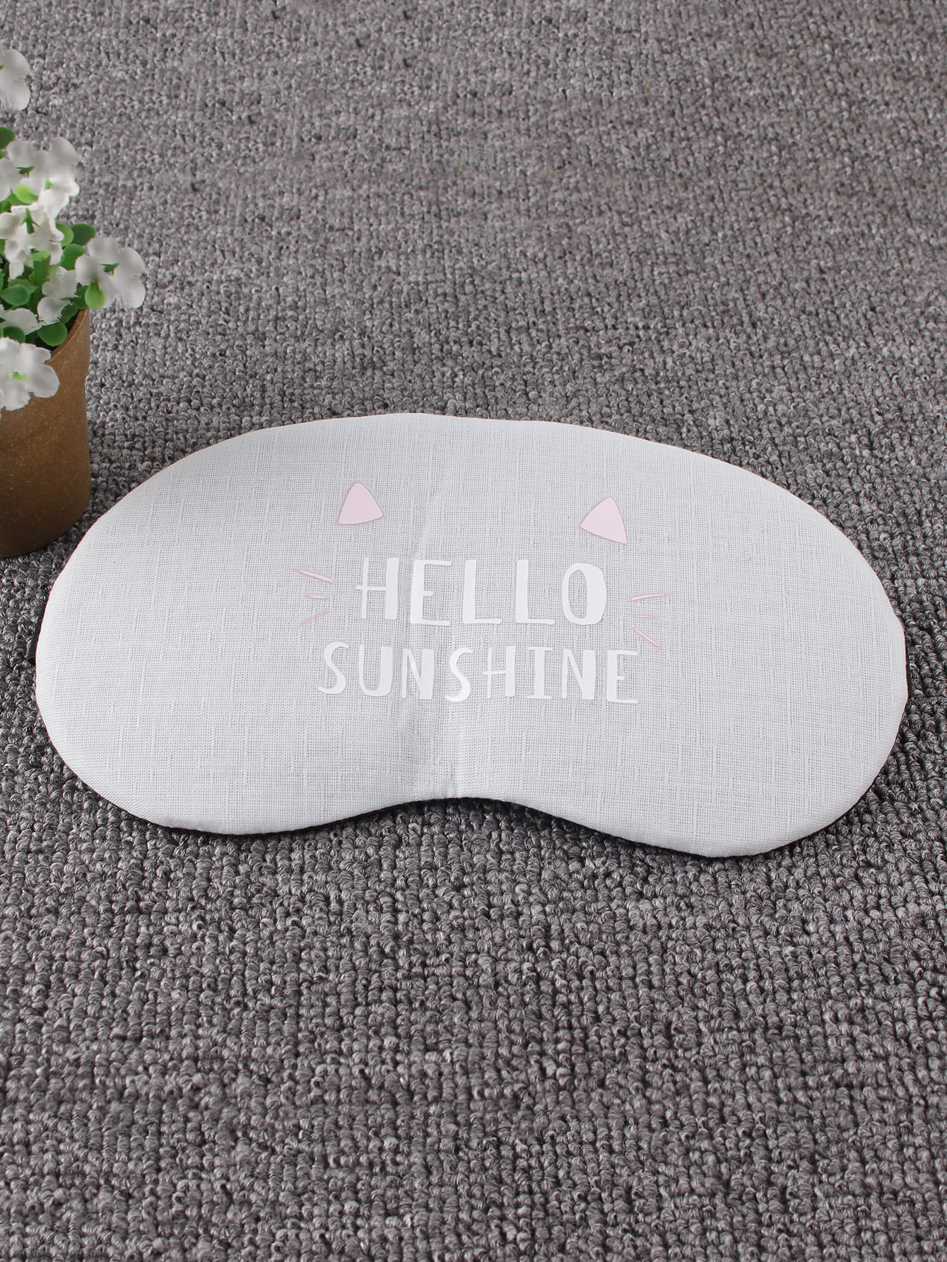 Slogan Print Rest Cover Eye Mask 1Pc раскладушка therm a rest therm a rest luxurylite mesh xl