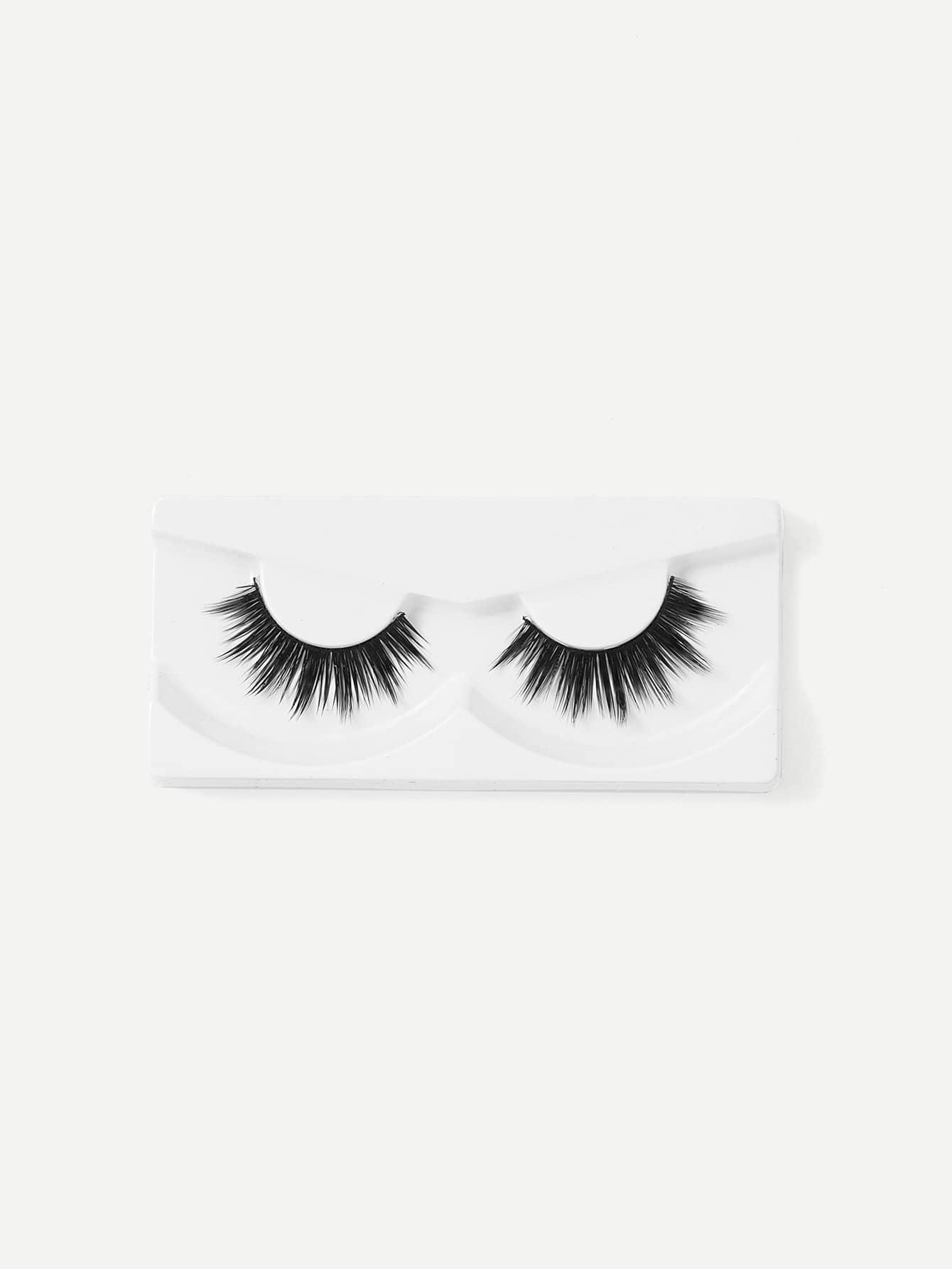 Curling Volumizing False Eyelash 1pair jiaocan 7011 eyelash super volumizing mascara combination