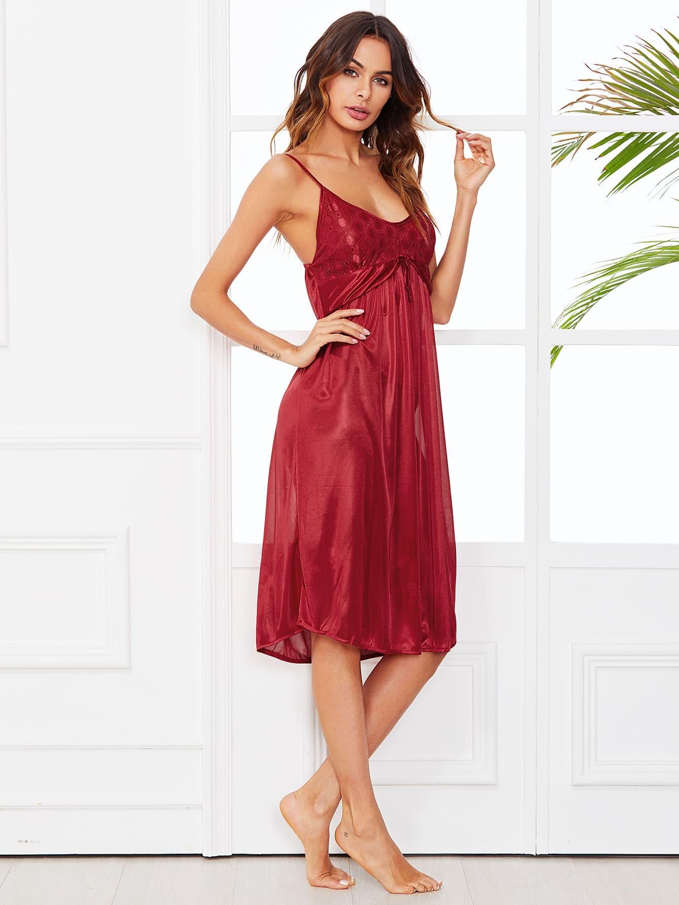 Купить Платье для наручных кружев, Andy, SheIn