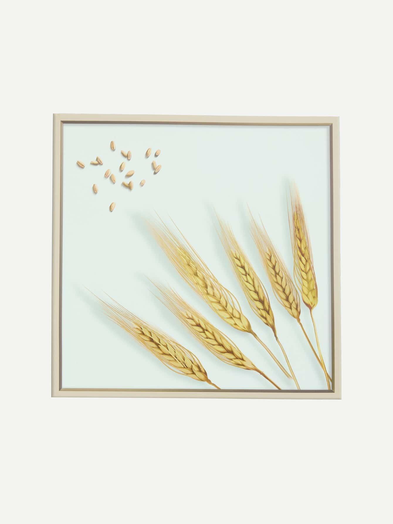 Печать настенной печати пшеницы