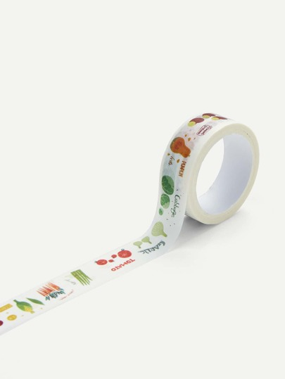 Fruit Print Paper Tape