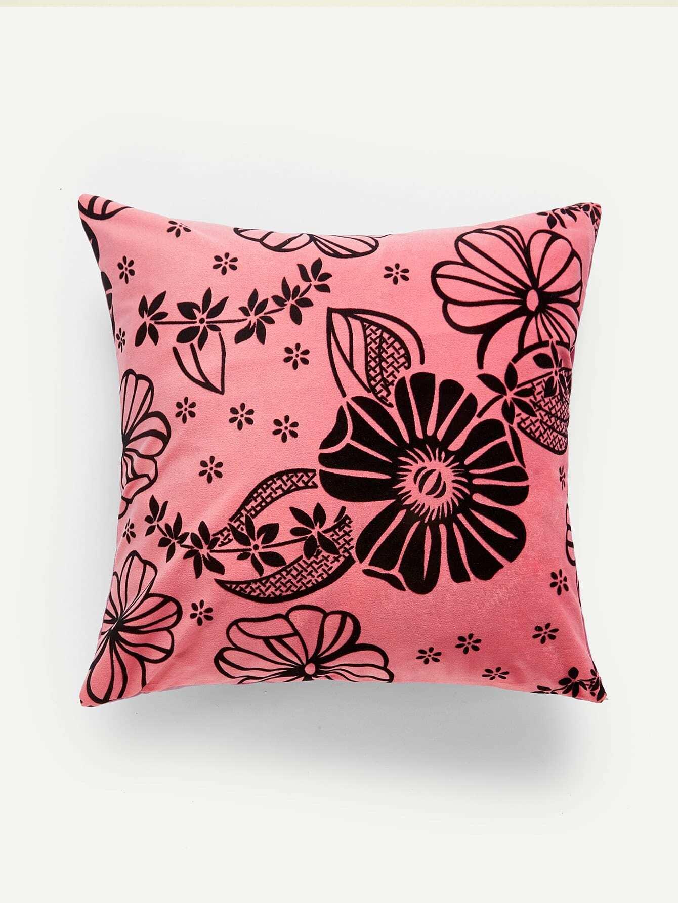 Flower Print Pillow Case valentine s day love you forever flower print pillow case