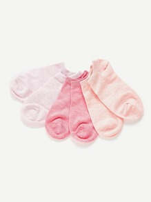 Space Dye Invisible Socks 3pairs