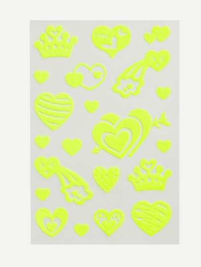 Heart Pattern Wall Stickers