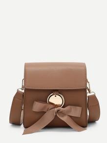 Ribbon Tie Crossbody Bag