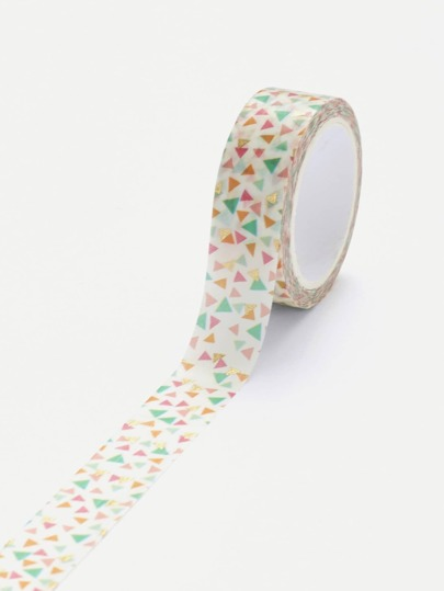 Triangle Print Masking Tape