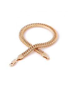 Plated Chain Bracelet 1pc