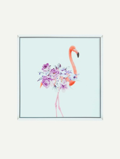 Flower & Flamingo Wall Sticker
