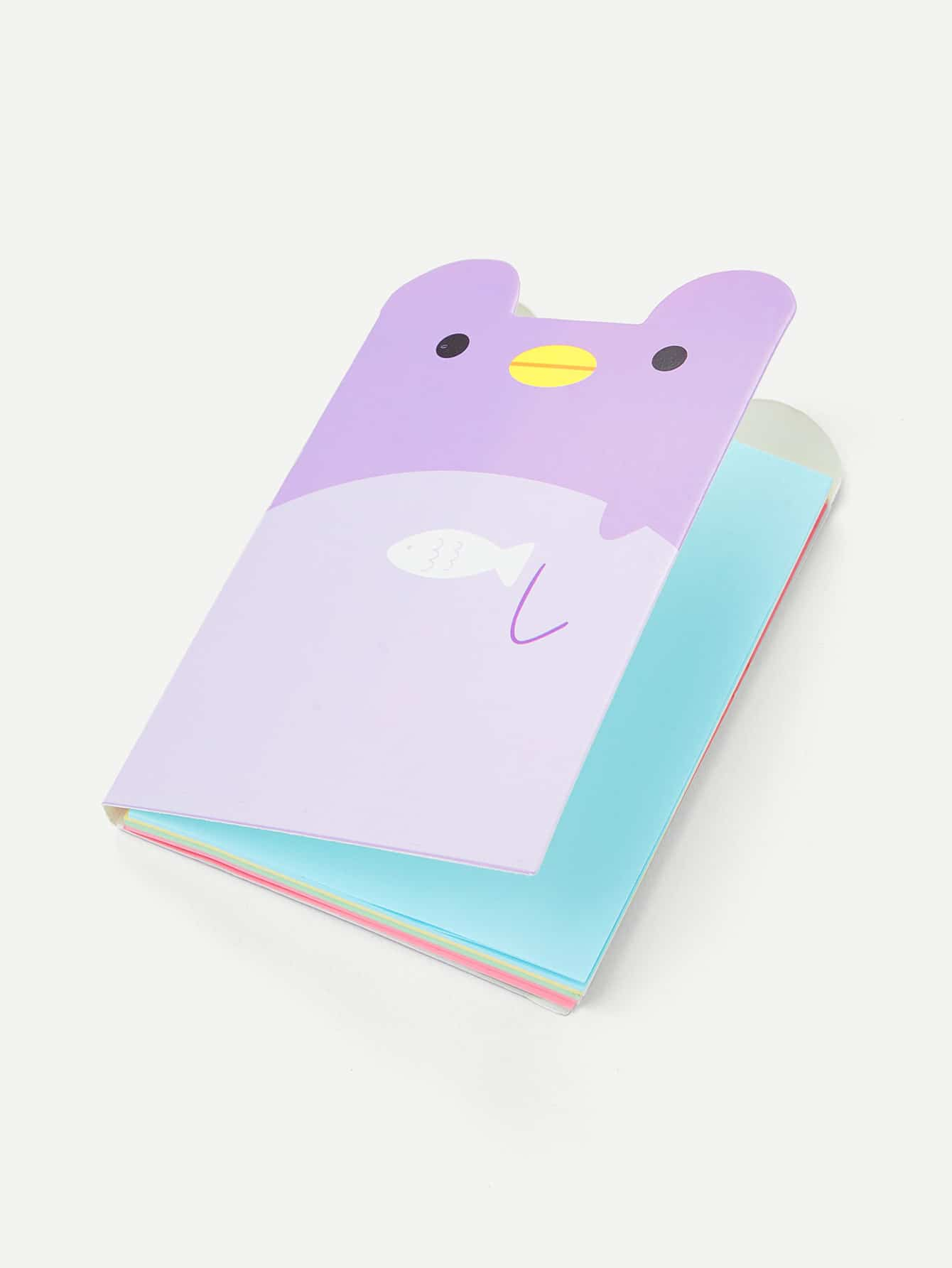 Cartoon Bear Shaped Memo Pad 150 page apple shaped memo pad