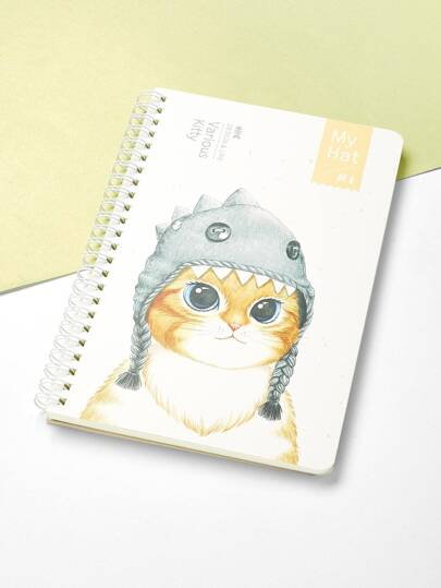 Cartoon Print Cover Notebook