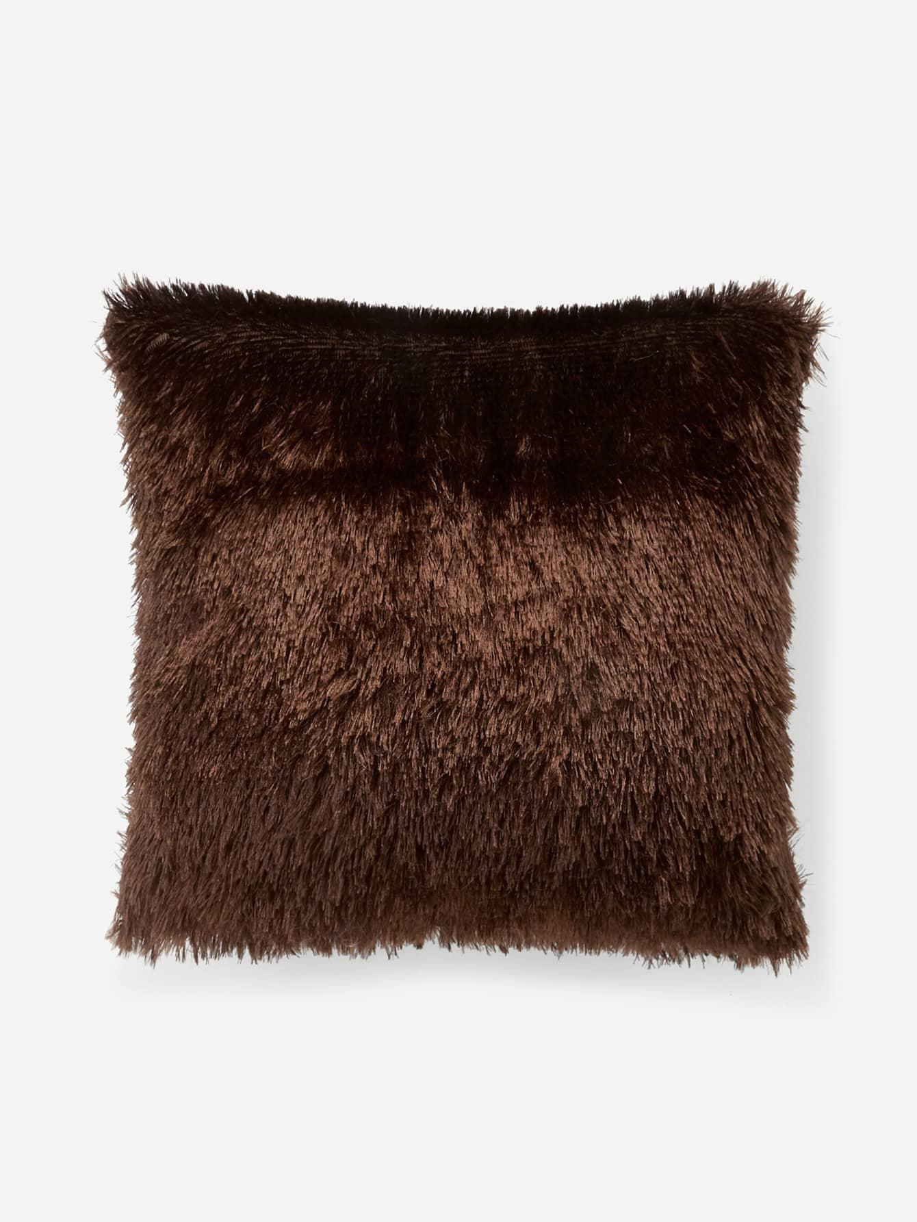 Faux Fur Pillow Case