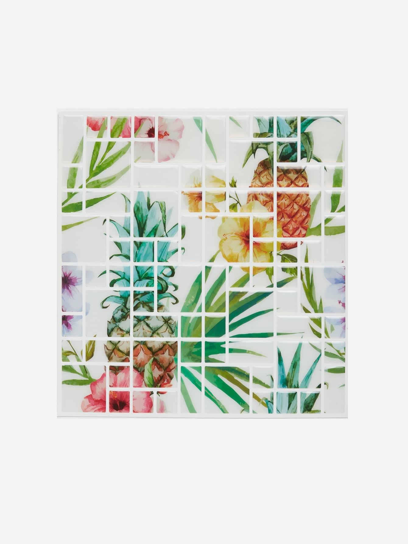 Fruit Pattern Wall Tiles часы dkny dkny dk001dwslo56