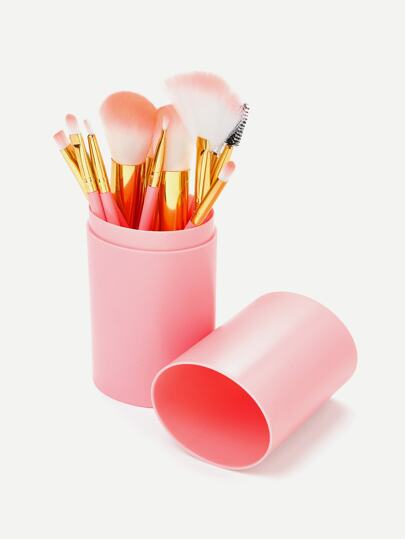 Professional Makeup Brush 12pcs With Bucket